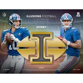 2019 Panini Illusions Football Hobby 8-Box Case (Presell)