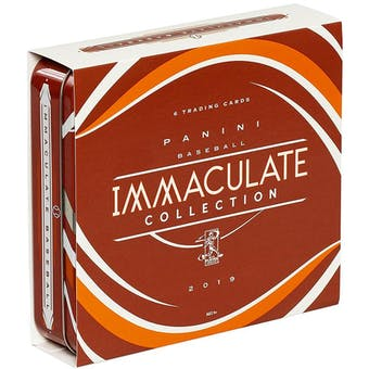 2019 Panini Immaculate Baseball 8-Box Case- DACW Live 30 Spot Pick Your Team Break #2
