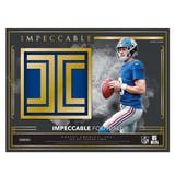 2019 Panini Impeccable Football Hobby 3-Box Case (Presell)