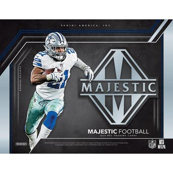 2019 Panini Majestic Football Hobby Pack
