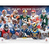 2019 Panini NFL Football Sticker Collection Box