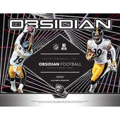 2019 Panini Obsidian Football Hobby 12-Box Case (Presell)