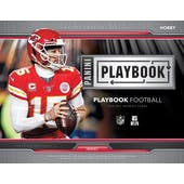 2019 Panini Playbook Football Hobby 16-Box Case