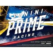 2019 Panini Prime Racing Hobby 8-Box Case (Presell)