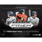 2019 Panini Prizm Draft Picks Baseball Hobby Box (Presell)