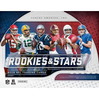 2019 Panini Rookies & Stars Football 14-Box Case- DACW Live 32 Spot Pick Your Team Break #2