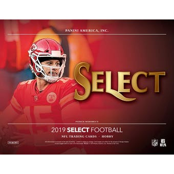 2019 Panini Select Football 6-Box- DACW Live 32 Spot Random Team Break #1