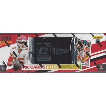 2019 Panini Donruss Football Factory Set (Red)