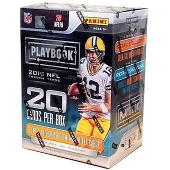 2019 Panini Playbook Football 4-Pack Blaster Box