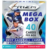 2019 Panini Prizm Baseball 40ct Mega Box