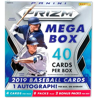 2019 Panini Prizm Baseball Mega Box (40 Cards)