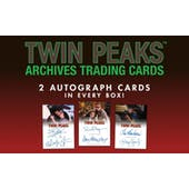 Twin Peaks Archives Trading Cards Box (Rittenhouse 2019) (Presell)