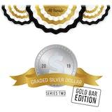 2019 Hit Parade Graded Silver Dollar Gold Bar Edition - Series 2 Case- DACW Live 10 Spot Random Coin Break #1