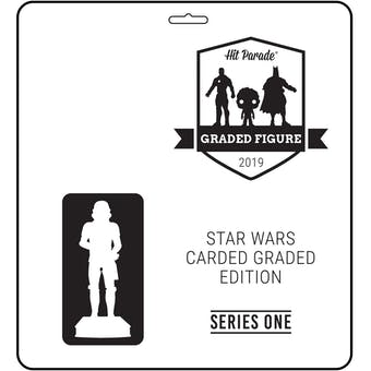 2019 Hit Parade Star Wars Carded Graded Figure Edition - Series 1 Box- 12 Back AFA Darth Vader!