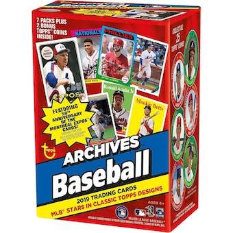 2019 Topps Archives Baseball 7-Pack Blaster Box