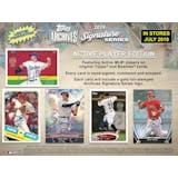 2019 Topps Archives Signature Series Baseball Hobby 20-Box Case (Presell)