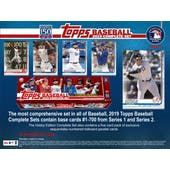 2019 Topps Factory Set Baseball Hobby (Box) (Presell)