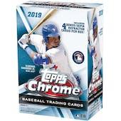 2019 Topps Chrome Baseball 8-Pack Blaster Box
