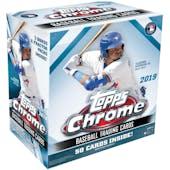 2019 Topps Chrome Baseball Mega Box
