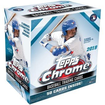 2019 Topps Chrome Baseball Mega Box