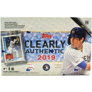 2019 Topps Clearly Authentic Baseball Hobby Box