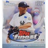 2019 Topps Finest Baseball Hobby Box