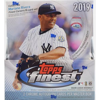 2019 Topps Finest Baseball 8-Box Case- DACW Live 30 Spot Pick Your Team Break #2