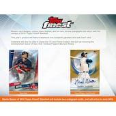 2019 Topps Finest Baseball Hobby Mini-Box