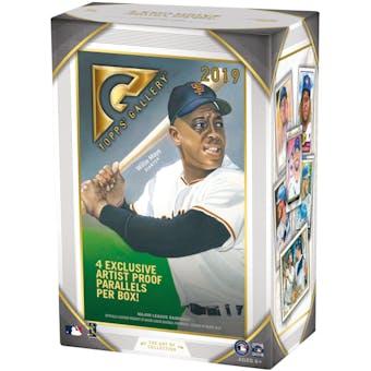 2019 Topps Gallery Baseball 8-Pack Blaster Box