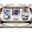 2019 Topps High Tek Baseball 12-Box Case- DACW Live 6 Spot Random Division Break #1