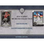 2019 Topps Museum Collection Baseball Hobby 12-Box Case (Presell)