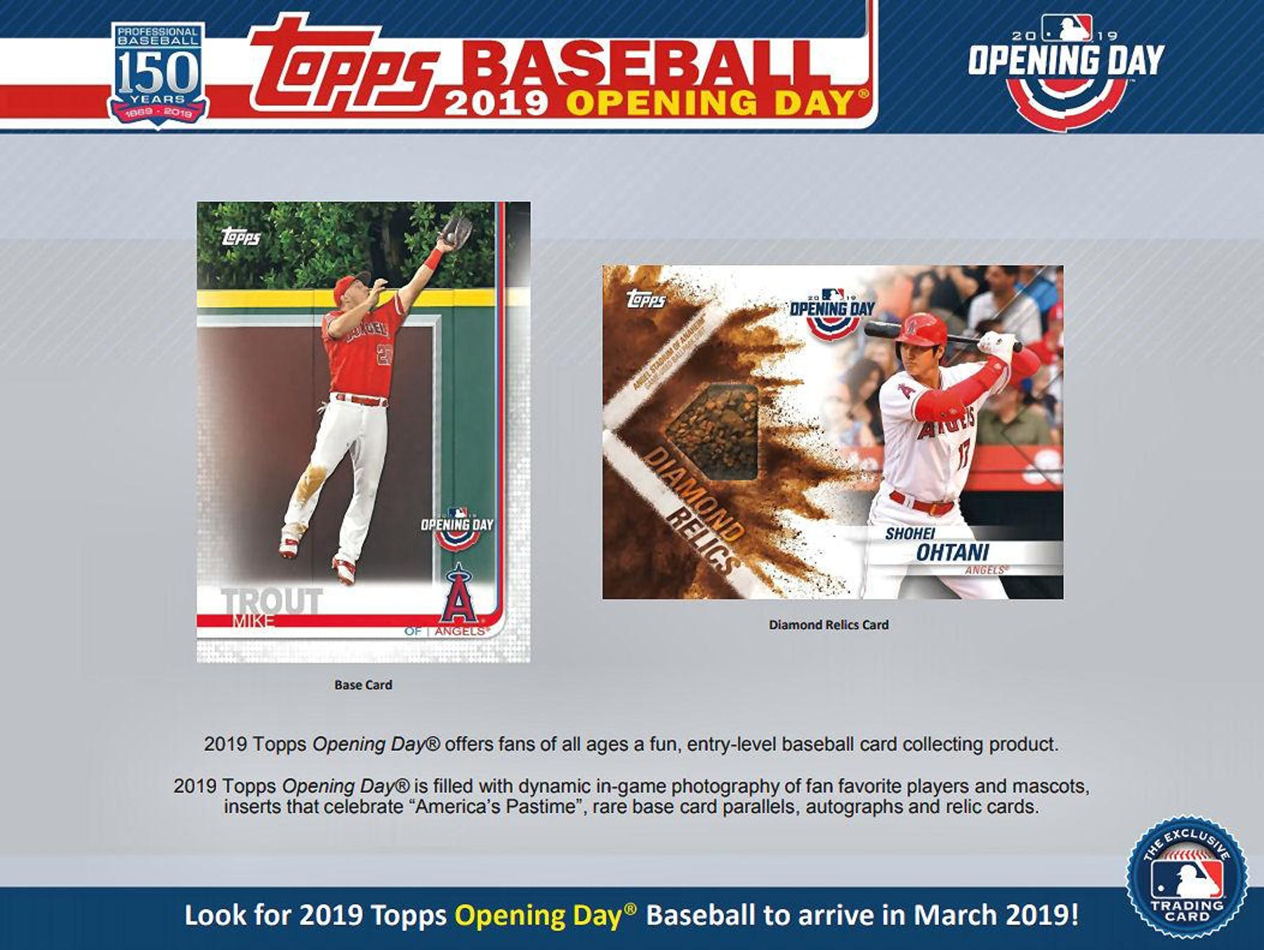 2019 Topps Opening Day Baseball Hobby Box (Presell)  f39e97a7f7