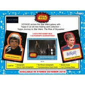 Journey to Star Wars: The Rise of Skywalker Hobby 12-Box Case (Topps 2019) (Presell)