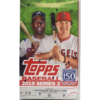 2019 Topps Series 2 Baseball Hobby Box (PLUS 1 Silver Pack!)