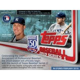 2019 Topps Series 1 Baseball Hobby Pack