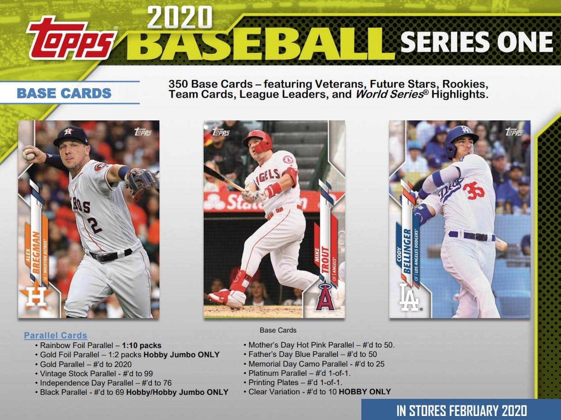 2020 topps chrome baseball