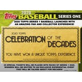 2020 Topps Series 1 Baseball Hobby 12-Box Case (Presell)