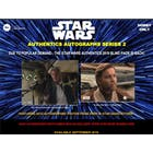 Star Wars Authentics Autographs Series 2 Hobby Box (Topps 2019) (Presell)