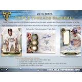 2019 Topps Triple Threads Baseball 9-Box Case- DACW Live 30 Spot Pick Your Team Break #1