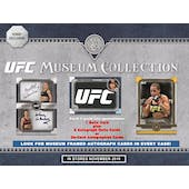 2019 Topps UFC Museum Collection Hobby 12-Box Case (Presell)