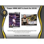 2019 Topps WWE NXT Wrestling Hobby 8-Box Case (Presell)