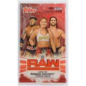 2019 Topps WWE RAW Wrestling Hobby Pack