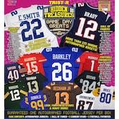 2019 TriStar Hidden Treasures Game Day Greats Series 2 Football Jersey Hobby 5-Box Case