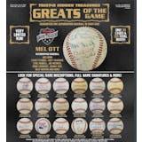 2019 TriStar Hidden Treasures Greats Of The Game Baseball Hobby 6-Box Case