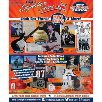 2019 TriStar Signature Series National Edition Hobby Box