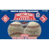 2019 TriStar 1969 Chicago Autographed Baseball Hobby Box