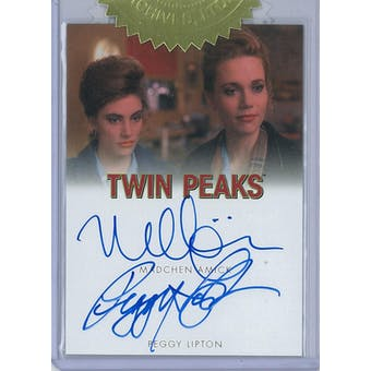 Twin Peaks Archives Madchen Amick/Peggy Lipton Dual Autograph (Rittenhouse 2019)