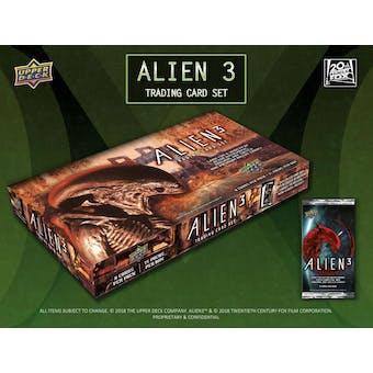 Alien 3 Trading Cards Hobby 8-Box Case (Upper Deck 2019) (Presell)