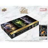 Flair Marvel Hobby 8-Box Case (Upper Deck 2019) (Presell)
