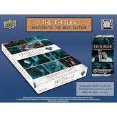 The X-Files: Monsters of the Week Trading Cards Box (Upper Deck 2019) (Presell)